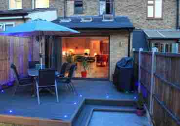 rear extension patio