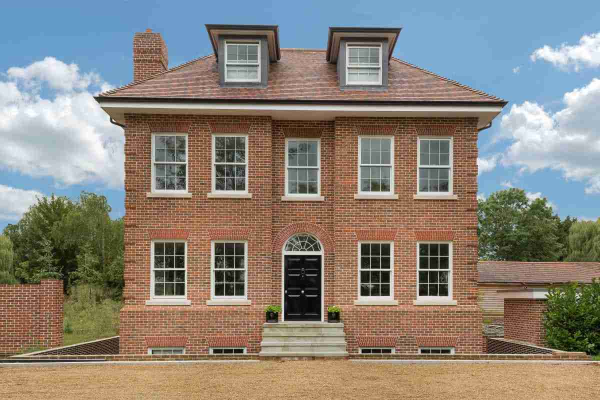 New detached classical house