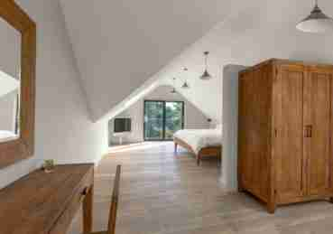 Loft conversion interior view