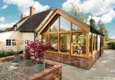 oak frame garden house