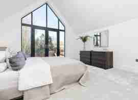 Pair of detached house master bedroom
